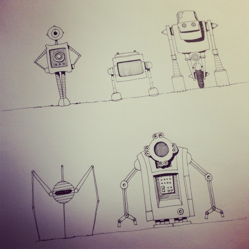 A few random robots.