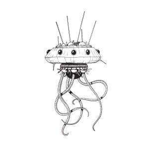 A tentacled A.I.