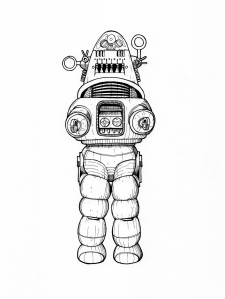 Robby the Robot from Forbidden Planet