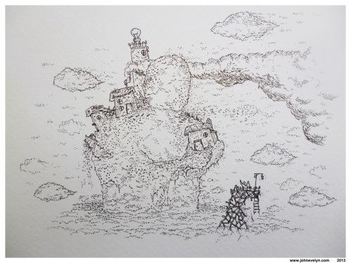 John's beautiful illustration 'Home'.