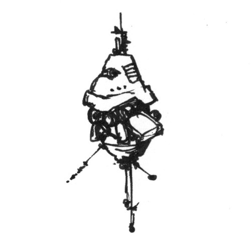 Some kind of hovering probe