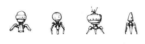Multi-legged mechs