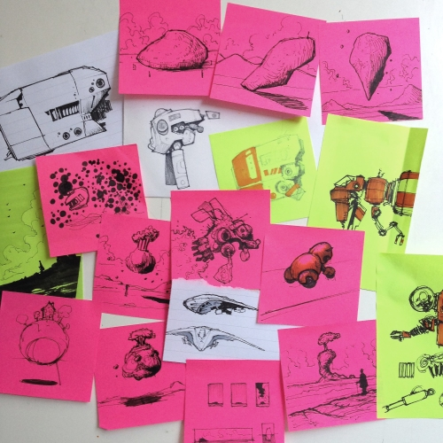 Draw-it, Post-It.