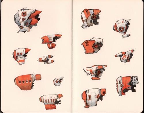 The Orange Fleet