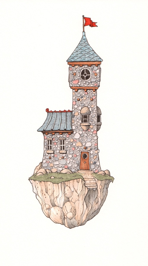 Watchtower in colour