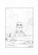 Easter Island Robot