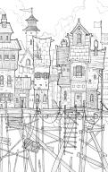 Stilted City IV