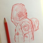 Red Astronaut.