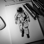Day 11: The Astronaut.