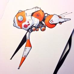 Orange Flyer