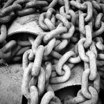 Ship chains.