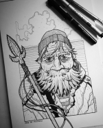 A little fan art, check out the Griff Gristle comic on Kickstarter.