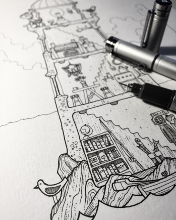 Lighthouse work in progress