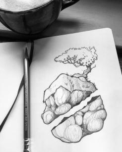 The Broken Rock that Flies