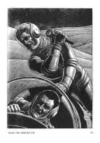 GALAXY SF MAY - JUNE HOW THE HEROES DIE VIRGIL FINLAY 2