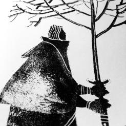 Sir Caspian's petrified tree