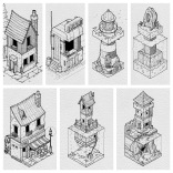 A bunch of my favourite Inktobers. 4162 likes on Instagram.
