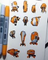Orange Bots.