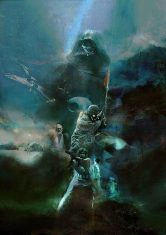 Star Wars Episode IV film poster by Studio Ronin