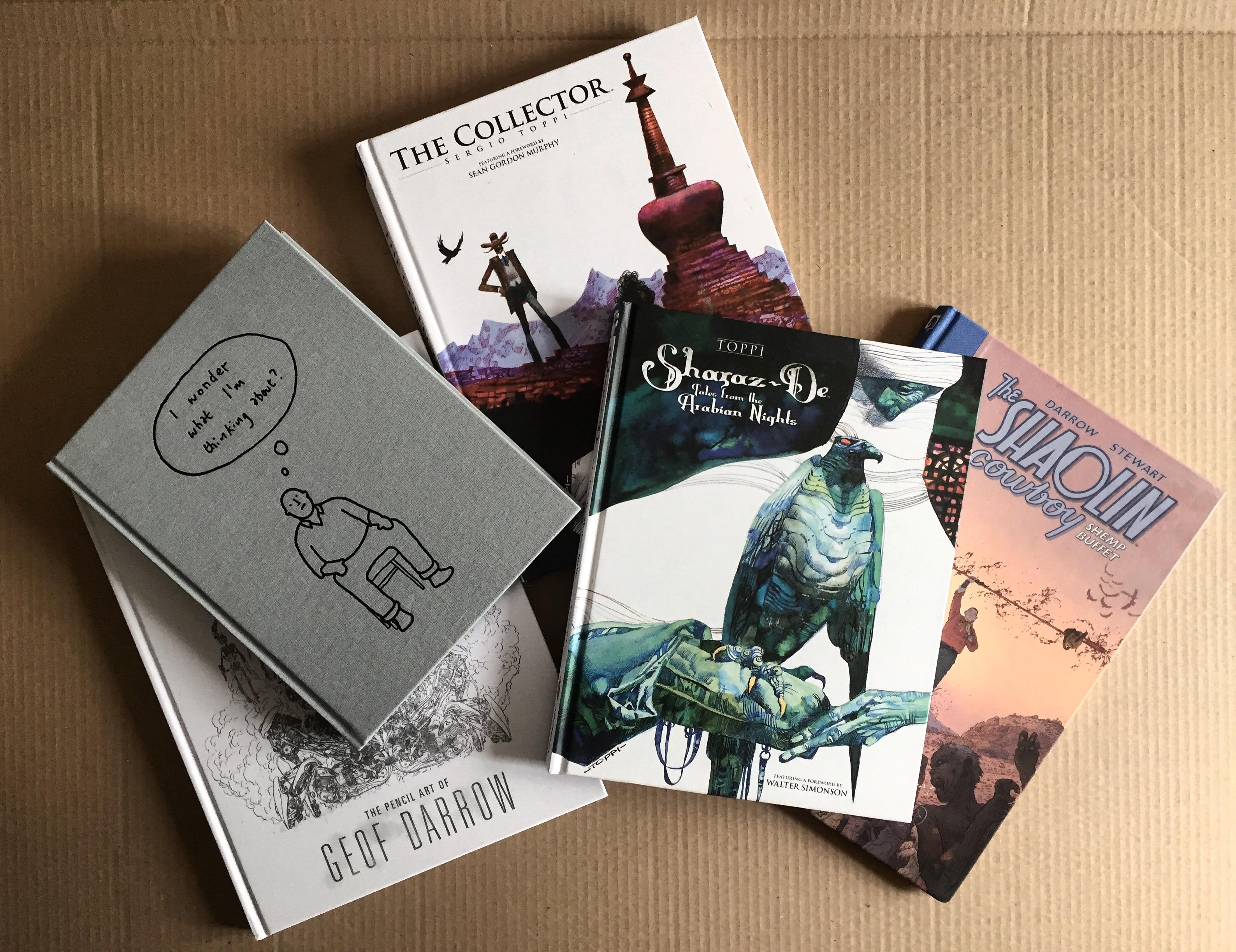 Recent book haul