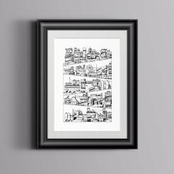 Cityscape-Framed
