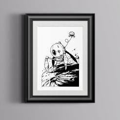 Mining-Droid-2-Framed