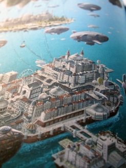 David Wyatt's gorgeous Brighton illustration.