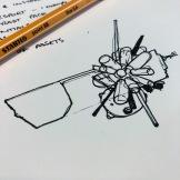 Mid-work doodle.